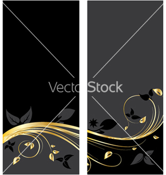 Free vintage gold banner vector - Free vector #244305