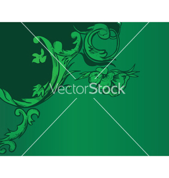 Free vintage background with floral vector - Kostenloses vector #244415