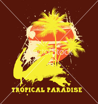 Free summer tshirt design vector - бесплатный vector #244765