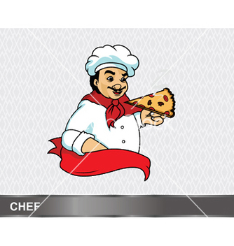 Free cartoon chef vector - Free vector #245145