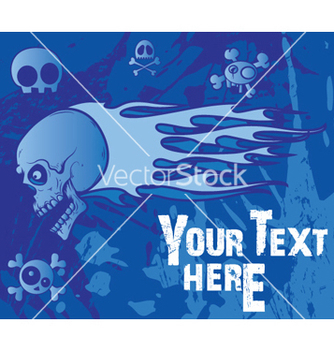 Free emo background with skulls vector - Free vector #246105