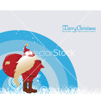 Free christmas greeting card vector - Kostenloses vector #246355