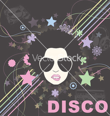Free disco background vector - Free vector #246705