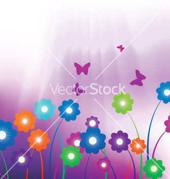 Free spring background vector - Kostenloses vector #247245