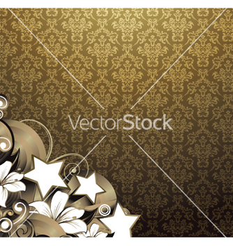 Free floral wallpaper vector - бесплатный vector #247535