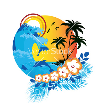 Free summer vector - Free vector #247935