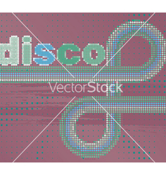 Free retro disco background vector - Free vector #247955