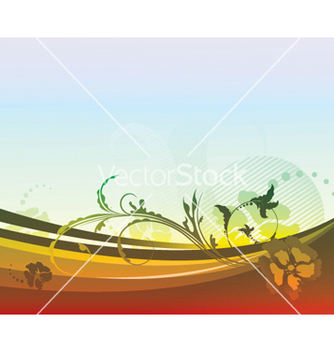 Free floral background vector - бесплатный vector #248795