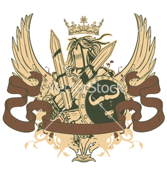 Free warrior emblem vector - бесплатный vector #248805