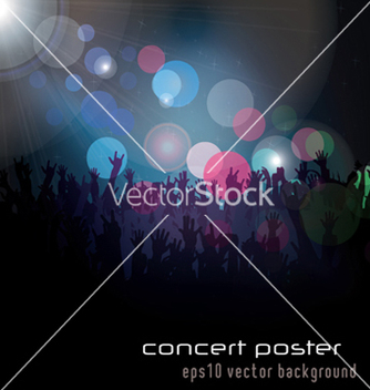Free concert poster vector - Free vector #248945
