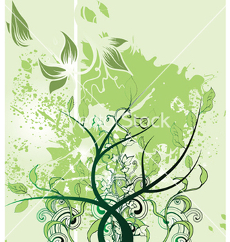 Free abstract spring floral background vector - Free vector #249005