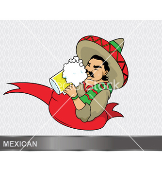 Free cartoon mexican vector - бесплатный vector #249265