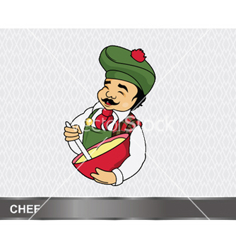 Free cartoon chef vector - бесплатный vector #249555
