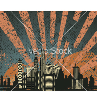 Free urban background vector - Free vector #249575