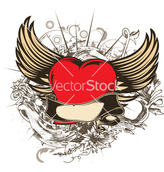 Free valentine emblem vector - Free vector #249705