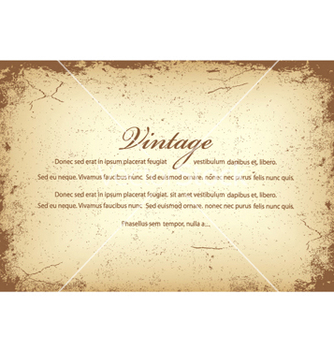 Free vintage background vector - vector gratuit #249945