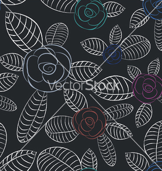 Free abstract seamless floral background vector - Kostenloses vector #250635