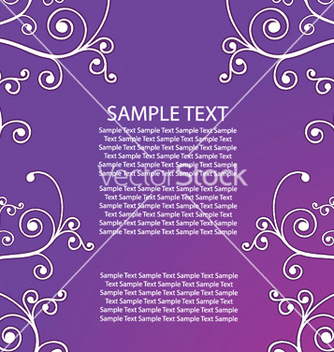 Free abstract floral background vector - Free vector #251435