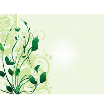 Free abstract spring floral background vector - Free vector #252295
