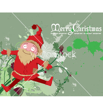 Free christmas greeting card vector - Kostenloses vector #252465