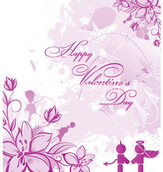 Free valentines day card vector - бесплатный vector #252765