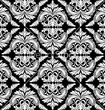 Free baroque seamless pattern vector - vector gratuit #252885