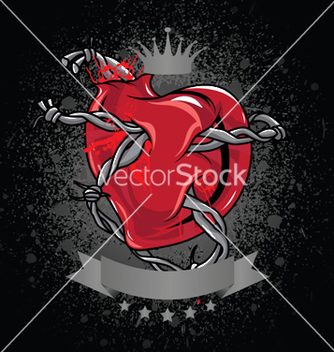 Free heart background vector - Kostenloses vector #253145