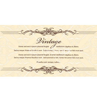 Free vintage background vector - vector gratuit #253595
