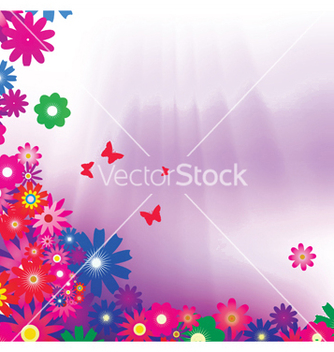 Free spring background vector - Kostenloses vector #253835