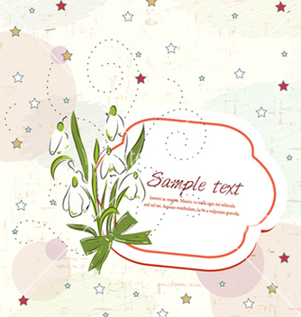 Free frame with floral vector - Free vector #254255