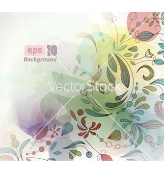 Free colorful abstract background vector - бесплатный vector #254295