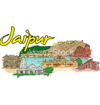 Free jaipur doodles vector - Free vector #254435