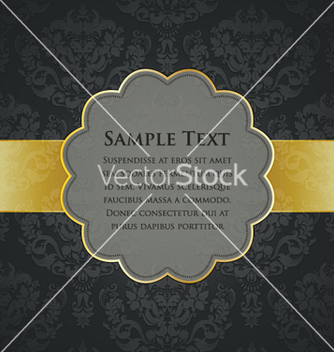 Free vintage gold label vector - Free vector #254645