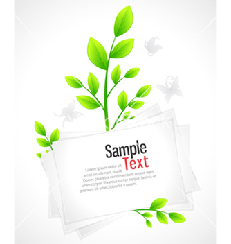 Free eco design vector - бесплатный vector #254845