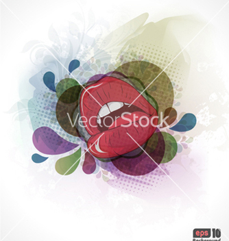 Free colorful abstract background vector - бесплатный vector #254945