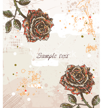 Free colorful floral background vector - Kostenloses vector #255255