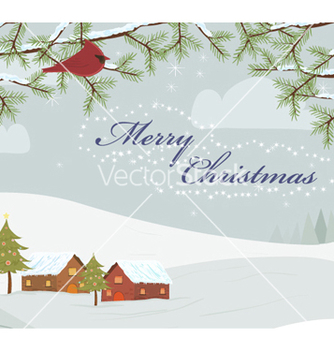 Free christmas background vector - Kostenloses vector #255275