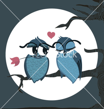Free love birds vector - vector #255305 gratis