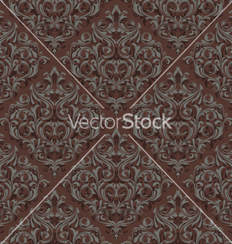 Free damask seamless pattern vector - бесплатный vector #255555