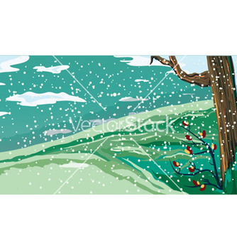 Free winter background vector - Kostenloses vector #255655