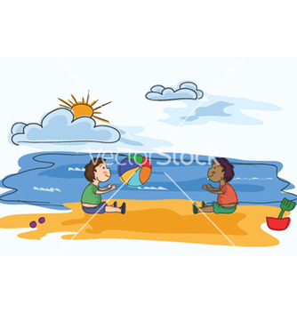 Free cartoon summer background vector - vector #255995 gratis