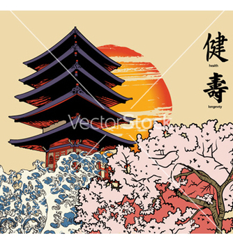 Free japanese background vector - Free vector #256055