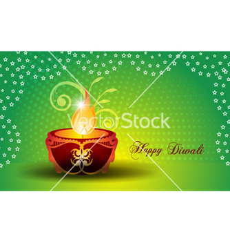 Free diwali greeting card vector - Free vector #256105