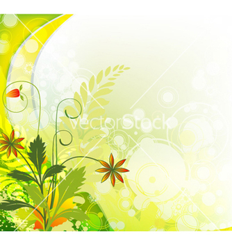 Free colorful floral background vector - бесплатный vector #256275