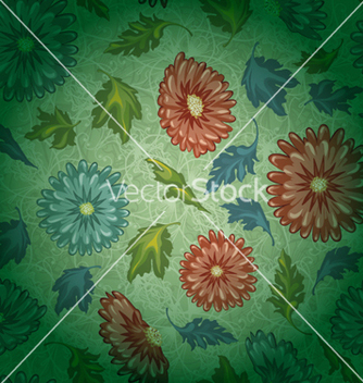 Free colorful floral pattern vector - vector #256445 gratis