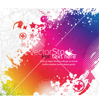 Free colorful abstract background vector - бесплатный vector #256475