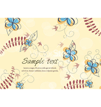 Free colorful floral vector - бесплатный vector #256535