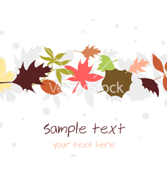 Free autumn floral background vector - Free vector #256655