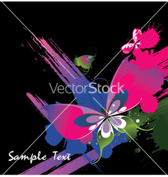 Free watercolor floral background vector - Free vector #256995