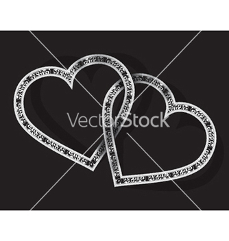Free valentines background with hearts vector - Free vector #257115